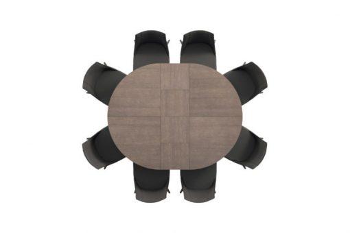 Tavolo Rotondo Allungabile Big Round
